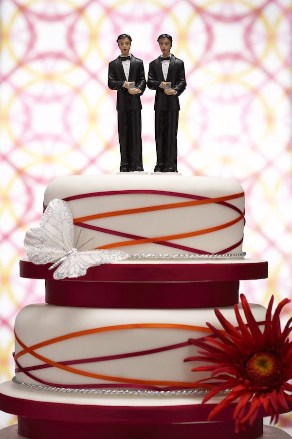 gay cake, wedding,