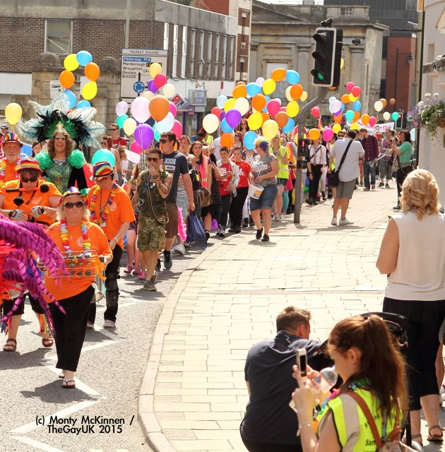 Swindon and Wiltshire Pride 2015