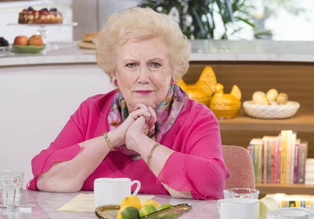 FROM ITV STUDIOS  THIS MORNING  WEEKDAYS ON ITV  PICTURED: Denise Robertson 'This Morning' TV Programme, London, Britain - 18 Sep 2015 © ITV  For further information please contact Peter Gray 0207 157 3046 peter.gray@itv.com   This photograph is © ITV and can only be reproduced for editorial purposes directly in connection with the  programme THIS MORNING or ITV. Once made available by the ITV Picture Desk, this photograph can be reproduced once only up until the Transmission date and no reproduction fee will be charged. Any subsequent usage may incur a fee. This photograph must not be syndicated to any other publication or website, or permanently archived, without the express written permission of ITV Picture Desk. Full Terms and conditions are available on the website www.itvpictures.com