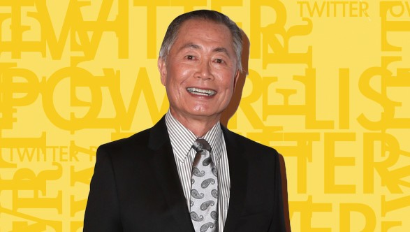 George Takei Twitter Power List