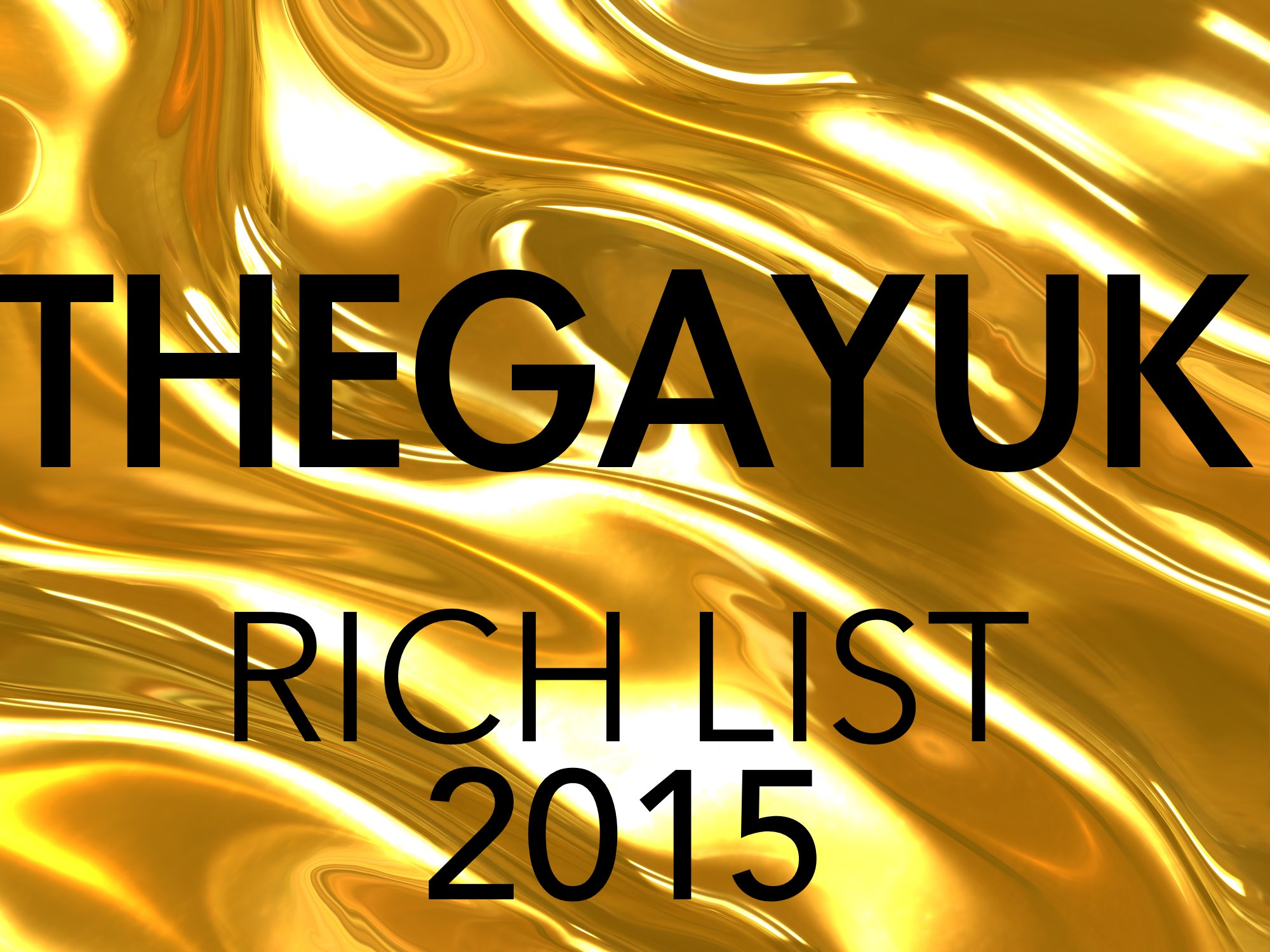 THEGAYUK UK Rich List