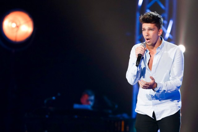 What song did Matt Terry audition with