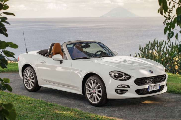 Fiat 124 Spider Lusso review