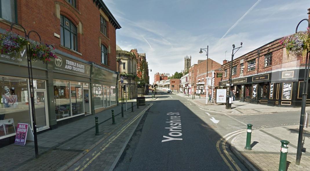 Yorkshire Street homophobic attack