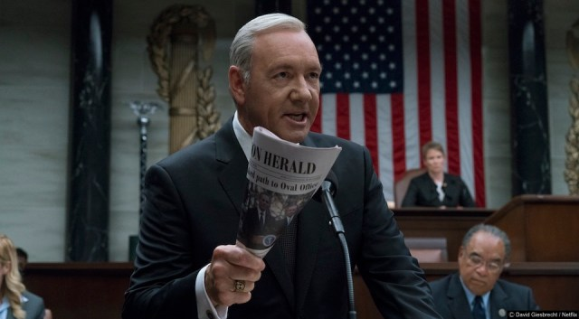How did House Of Cards kill off Frank Underwood?
