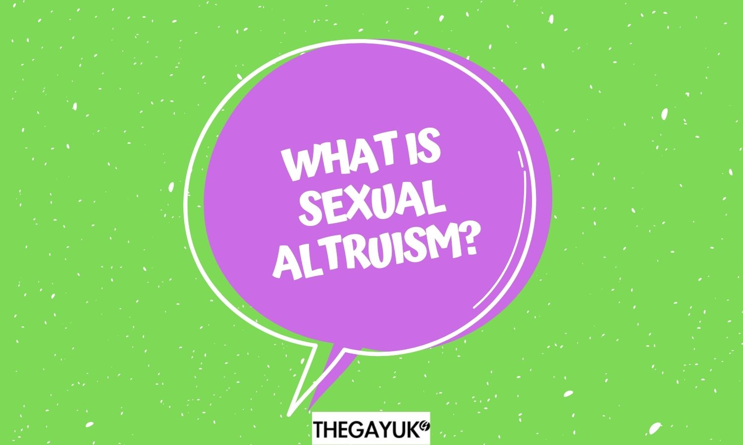 What is Sexual Altruism?