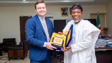 Photo of Images Of Visit Of Delegation Of Representatives Of EU Counties In Nigeria To Aregbesola