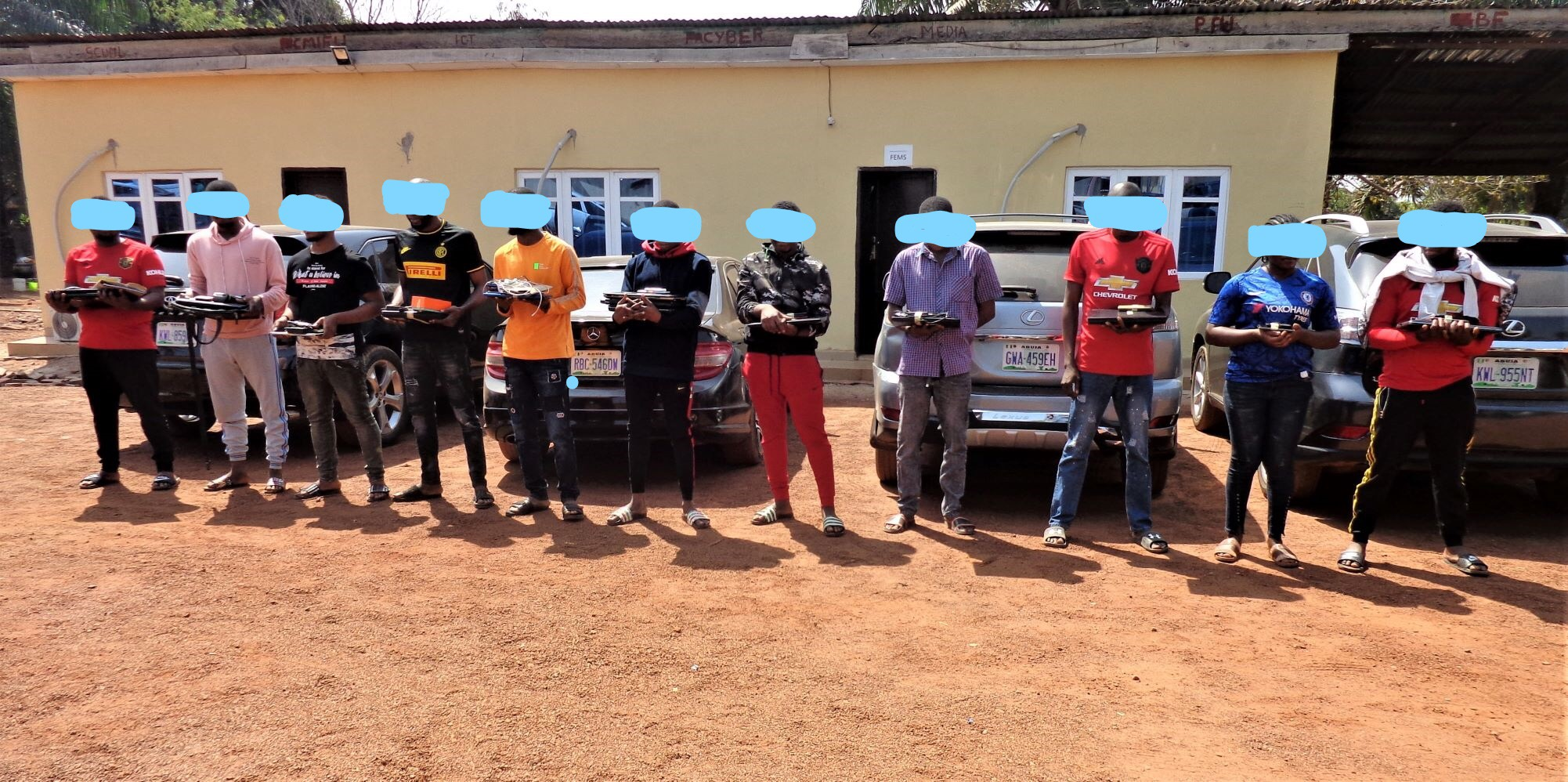 More Yahoo Boys In EFCC Net, See Their Faces