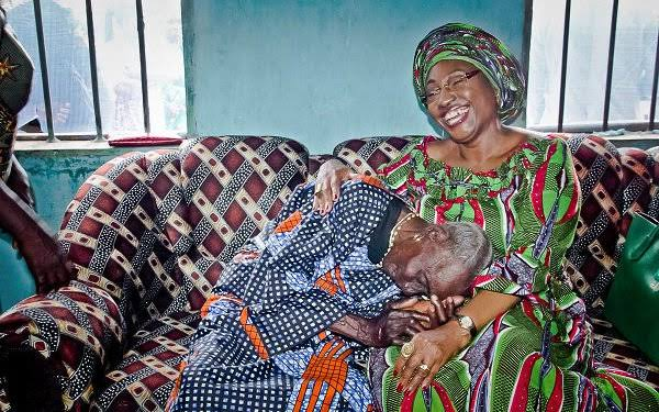 Erelu Fayemi Urges Care For The Elderly, As Burial Rites Of Her Adopted Mother Commences In Ikere