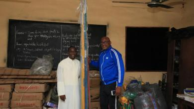 Photo of Omo-Agege Donates Sports Equipment To School