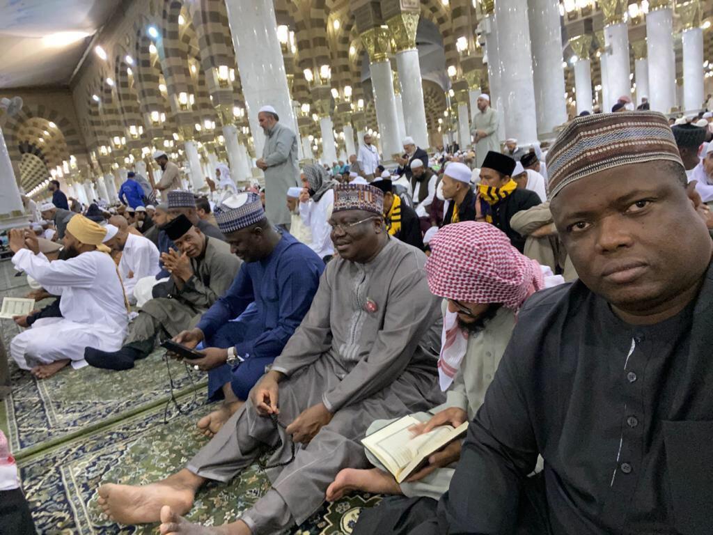 Senate President In Saudi Arabia For Lesser Hajj