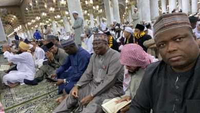 Photo of Senate President In Saudi Arabia For Lesser Hajj