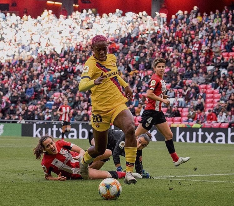 We're Privileged To Have Oshoala – Barca Coach