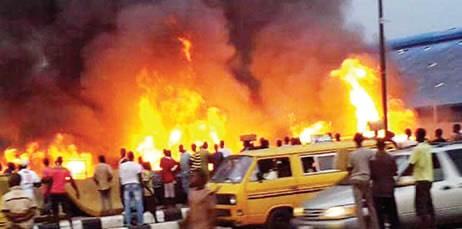 Two Die, Houses Burnt As Pipeline Explodes In Lagos