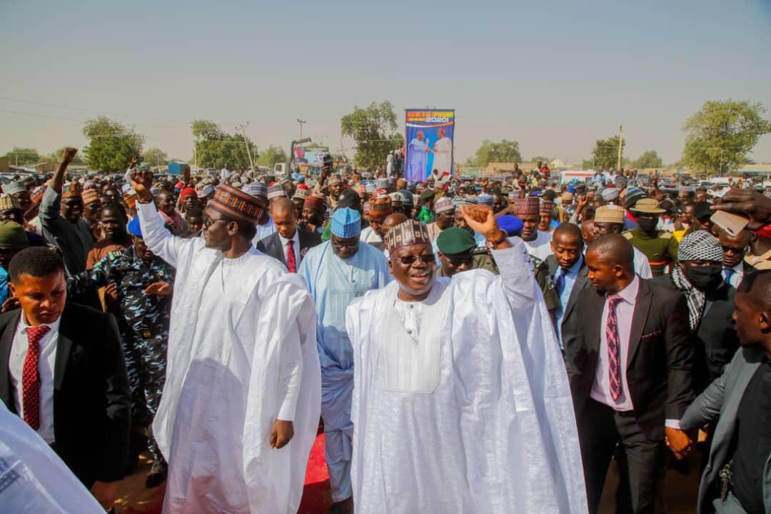Senate President Dazzles Constituents With Multi-million Empowerment Programme