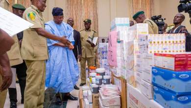 Photo of In Pictures, Aregbesola At Flag-off Of Drugs, Medical Supplies Distribution To Correctional Service Centres