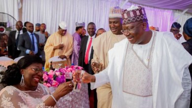 Photo of In Pictures, Senate President At 60th Birthday Celebration Of Senator Eyakenyi