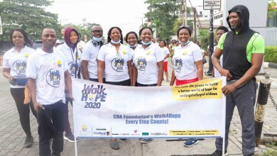 Photo of CBA Foundation Holds 'Walk4Hope Charity' Walk For Underprivileged Widows, Vulnerable Children