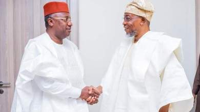 Photo of Images As Aregbesola Hosts Taraba Gov, ex-Governor Of Adamawa