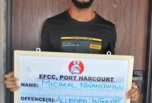 Photo of EFCC Arraigns FUTO Student For $11,522 Fraud