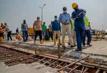 Photo of In Pictures, Fashola Inspects Ongoing Repair Work On Third Mainland Bridge