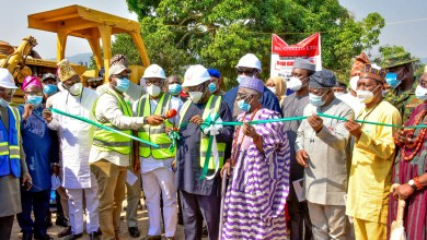 Photo of Excitement As Fayemi Flags Off Construction Of 1,000 Rural Roads In Ekiti