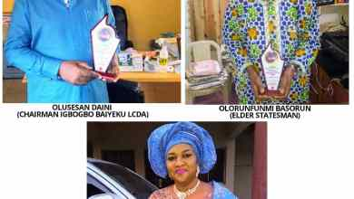 Photo of Ikorodu News Networks Recognition Awards Hold; Basorun, ex-Lagos Assembly Clerk, Tinubu, Shade Oba, Others Honoured