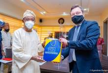 Photo of In Pictures, Aregbesola Hosts Ketil Karlsen-led EU Delegation To Nigeria, ECOWAS