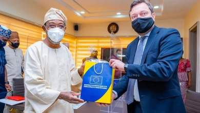 Photo of In Pictures, Aregbesola Hosts Ketil Karlsen-led EU Delegation To Nigeria, ECOWAS