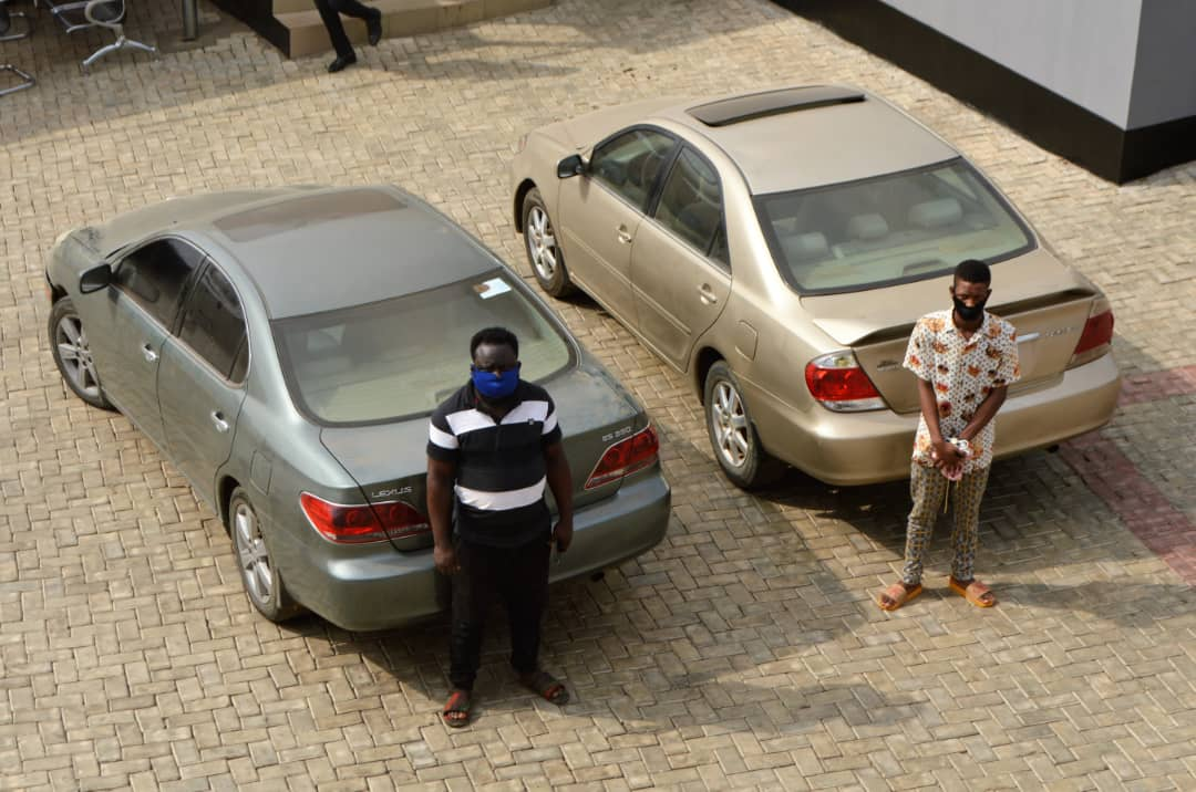 EFCC Arrests Two 'Yahoo' Brothers, Six Others In Osogbo; Four 'Yahoo' Boys Jailed In Lagos + Photos