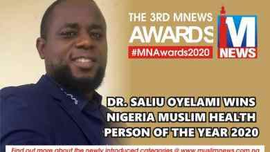 Photo of Dr. Oyelami Of Shifauk Hospital Wins Nigerian Muslim Health Person of the Year 2020
