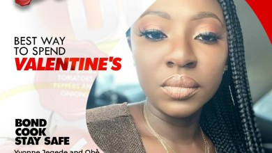 Photo of #COVID-19: Easy Sauce, Yvonne Jegede Collaborate To Educate Nigerians To Cook, Stay Home During Valentine