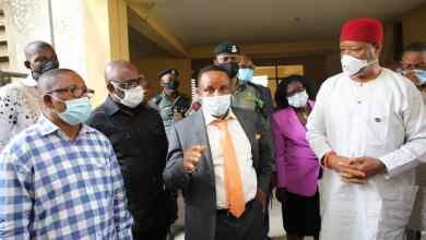 Photo of NDDC Administrator Orders Contractors Back To Site,Inspects Regional Hospital, University Hostel