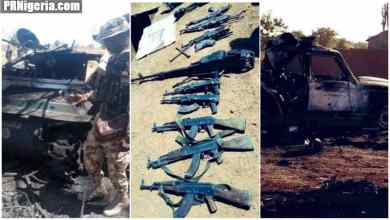 Photo of Askira Uba: Troops Kill 31 Boko Haram Fighters, Destroy 9 Gun Trucks + Photos