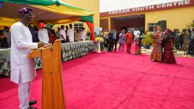 Photo of Sanwo-Olu Commissions Flyover, Four Road Projects In Agbado-Okeodo;Inaugurates Remodeled Youth Centre In Abesan