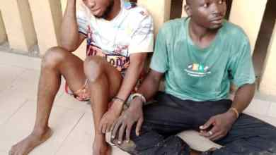 Photo of Lagos Police Arrest Two Robbery Suspects, Recover Two Guns