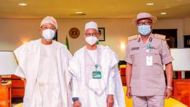 Photo of In Pictures, Aregbesola Commissions Kaduna Office Complex Of NIS