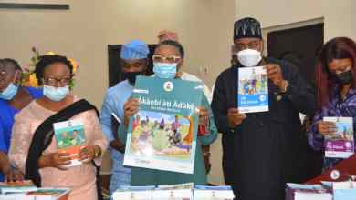 Photo of LASUBEB Recieves 'Je Ka Kawe' Early Grade Reading Materials From USAID