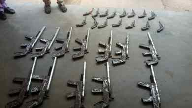 Photo of NDLEA Recovers 27 Rifles In Niger, Destroys 5 Hectares Of Cannabis Farm In Ondo + Photos