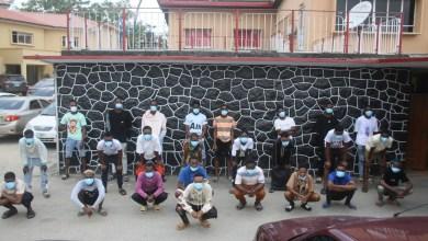 Photo of EFCC Arrests 25 Suspected Internet Fraudsters in Lagos