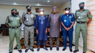 Photo of Images As Aregbesola Meets Leadership Of Army, NSCDC Over Collaboration Initiative