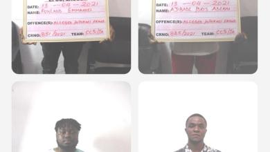 Photo of 'Bumper Harvest' As EFCC Nabs 27 'Yahoo' Boys In Lagos