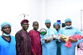 Photo of UCH Delivers First IVF Triplets