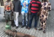 Photo of Lagos Police Reject N.5m Bribe, Arrest Suspects With Stolen Construction Materials;  Nab 2 Suspected Armed Robbers With Dummy Gun