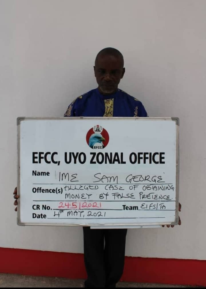 EFCC Smashes Syndicate Of 5 Suspected Land Scammers In Uyo
