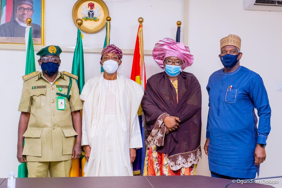 Together With Your Officers, You Must Ensure Strict Protection Of Custodial Facilities In Nigeria, Aregbesola Charges New NCoS CG