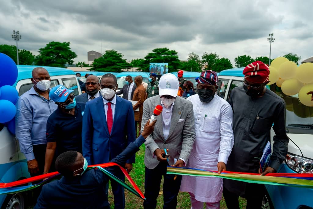 Lagos Ready For Final Battle With Okada Riders As Sanwo-Olu Launches 500 Mini-buses To Ply Restricted Areas