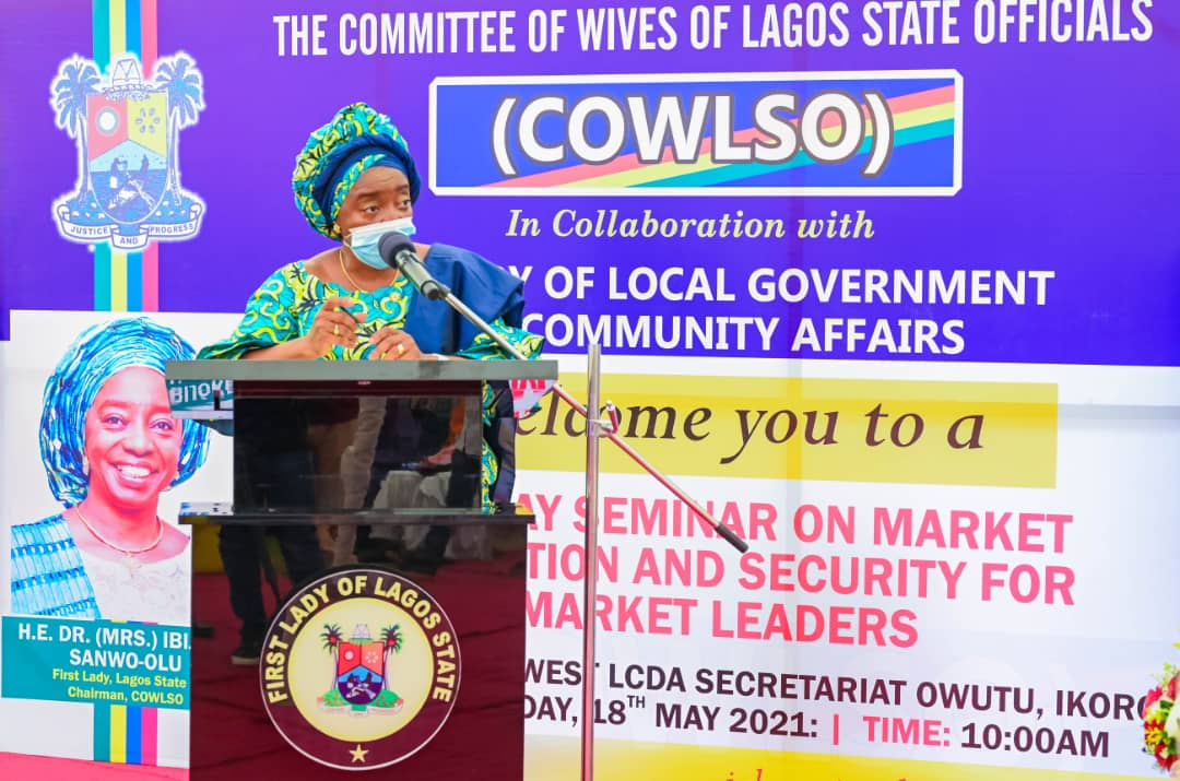 Report Suspicious Movement Around You, Sanwo-olu's Wife Tells Residents;Appeals For Understanding Over Okada Ban