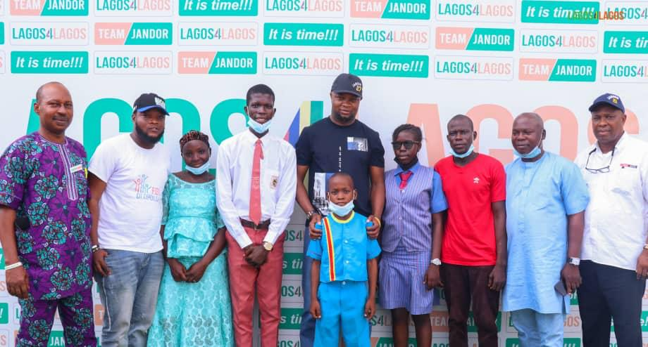 Jubilation As Jandor Fulfils Scholarship Promise To Makoko Three