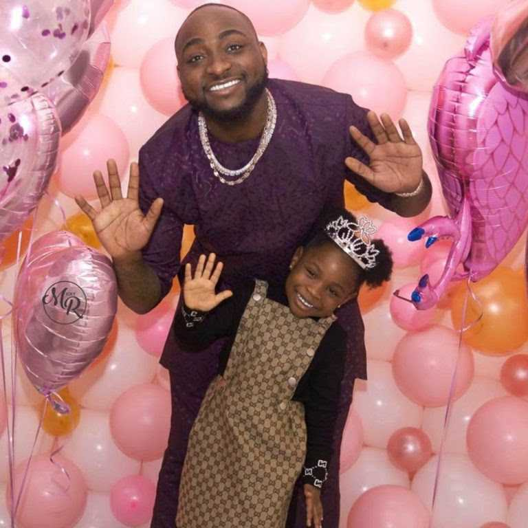 Davido's First Child, Imade, Gets Range Rover For 6th Birthday